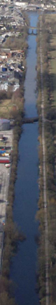 Aerial Photo of Ulverston Canal