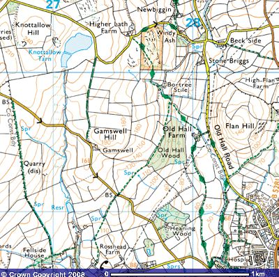 Directions to Knottallow Tarn