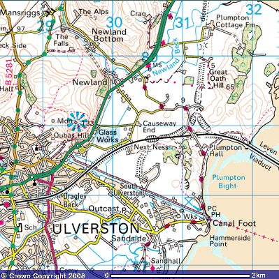 Directions to Ulverston Canal